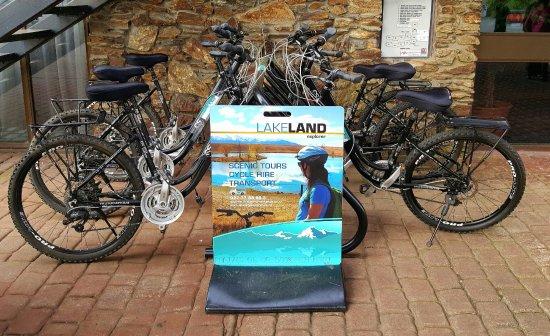 Twizel, نيوزيلندا: Bike Rentals Mackenzie Country Hotel Twizel