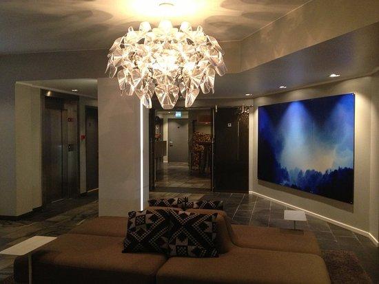 Harstad, Norway: Lobby