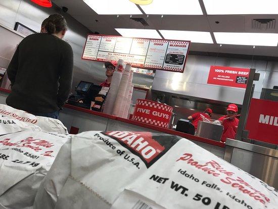 Five Guys Saint Charles Menu Prices Restaurant Reviews Order Online Food Delivery Tripadvisor