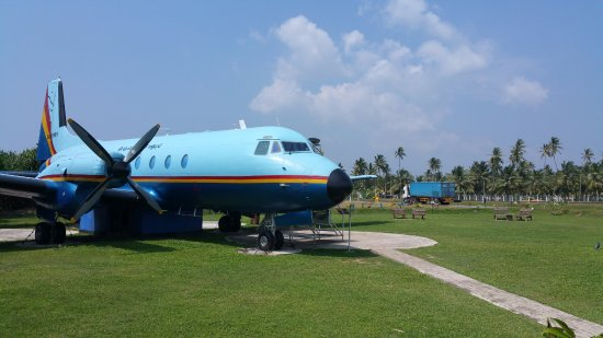 Catalina Grill: Plane at display