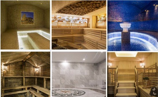 Burnaby, Canada: 6 of our unique sauna's
