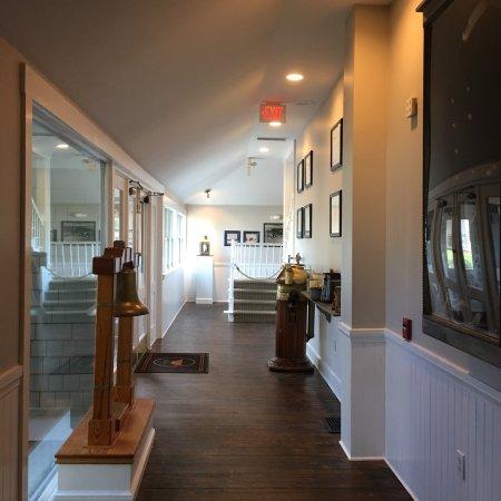Sanderling Resort & Lifesaving Station Restaurant - views of the hotel, beach, and restaurant.