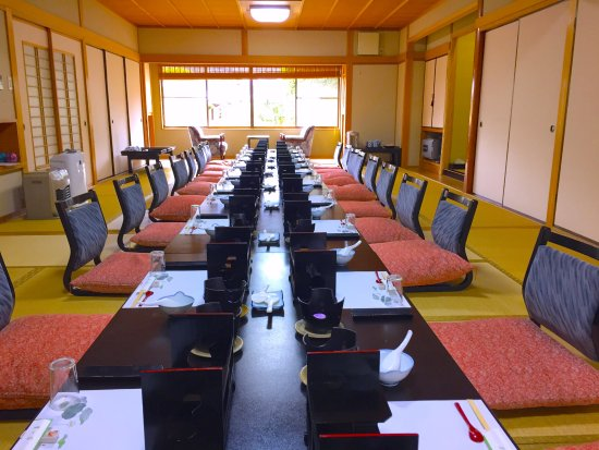 Shunan, Japan: 会食場の例