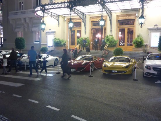 Casino of Monte-Carlo: Millions Parked out Front !