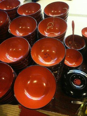 Azumaya, Ekimae: お椀を重ねるコース、3,240円