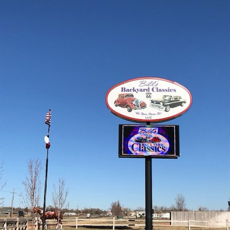 Entrance Sign Picture Of Bill S Backyard Classics Amarillo