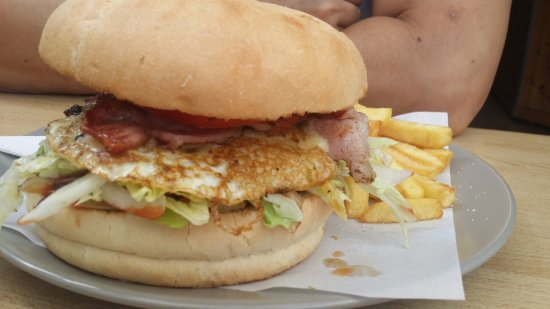 Eagle Heights, Australia: hamburger