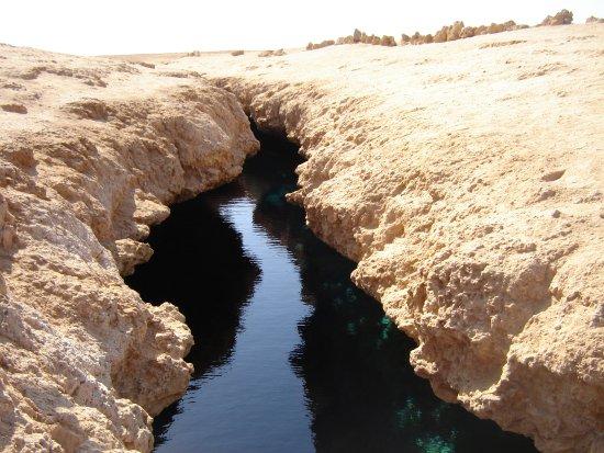 Ras Mohammed, Egypt: Разлом в земной коре.