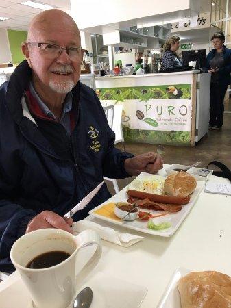 Haenertsburg, Sør-Afrika: Breakfast at Minki's