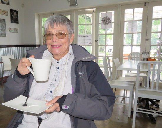 Haenertsburg, Sør-Afrika: Fabulous coffee