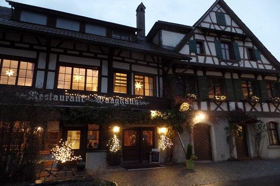 Gottlieben, İsviçre: nebenliegendes Restaurant