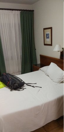 Hostal El Mirador: habitación