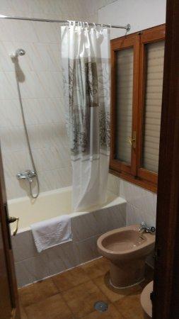 Hostal El Mirador: baño
