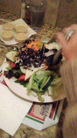 Potsdam, NY: Salade césar de mon épouse à $9.50