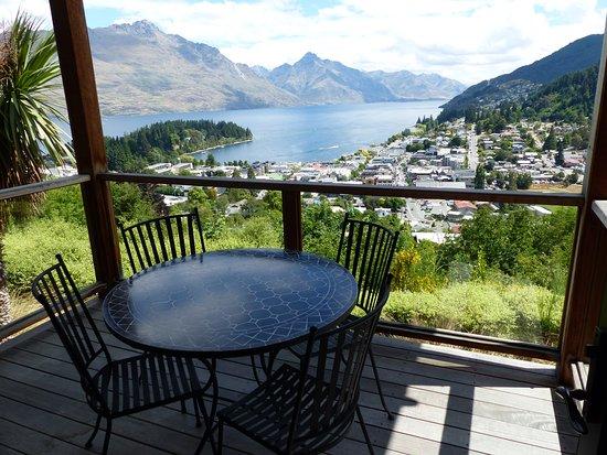 Commonage Villas: View of the balcony