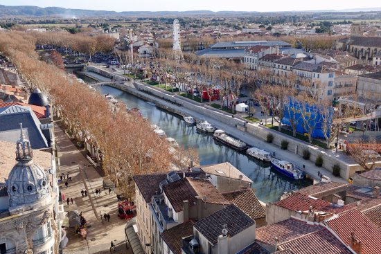 Donjon Gilles Aycelin: Overview of the canal