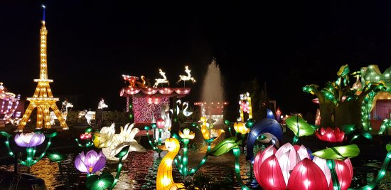 Batu Night Spectacular (BNS): Lampion Garden