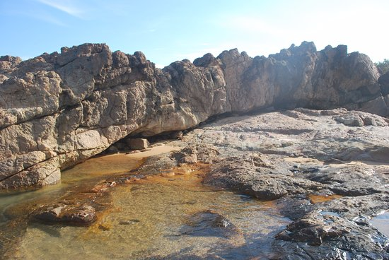 Agnes Water, Australië: Exploring Rock pools in Deepwater National Park