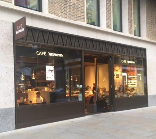Cafe Nespresso London Soho Restaurant Reviews Photos