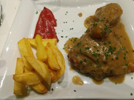 El pollo de corral guisado y las magn ficas patatas - Pollo de corral guisado ...