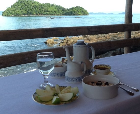 Port Barton, Filippinerne: Breakfast