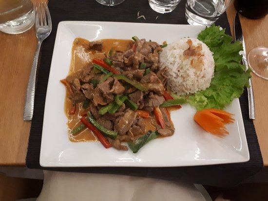 Boeuf Picture Of Chada Cuisine Thai Rennes Tripadvisor
