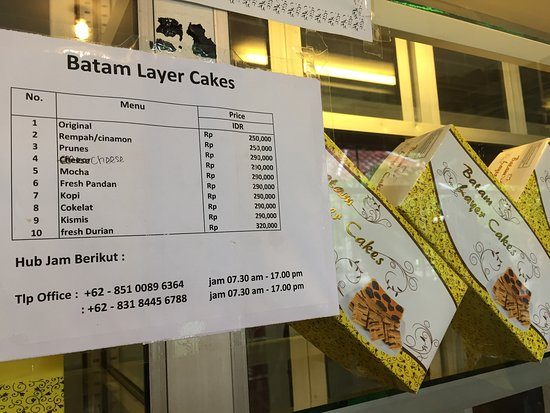 Batam Layer Cake Review