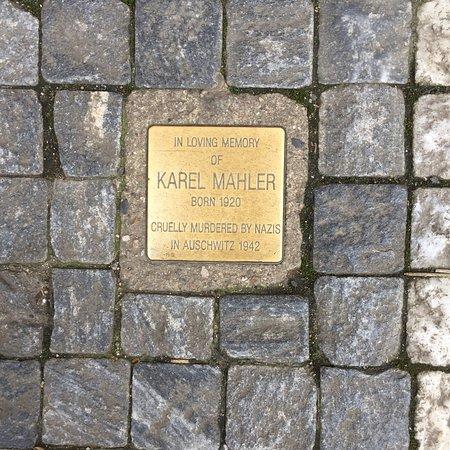 Stolperstein Klara, Karel Mahler