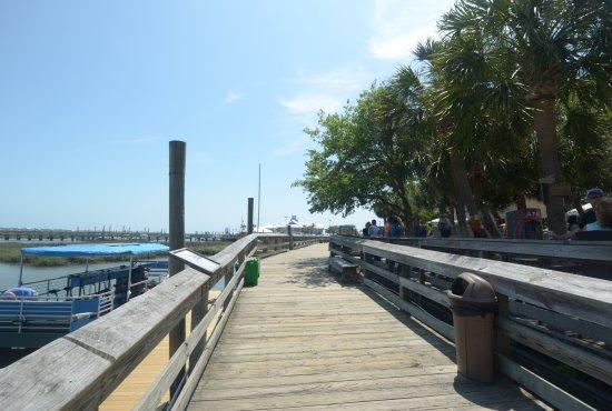Murrells Inlet, Carolina del Sur: la passerella di legno