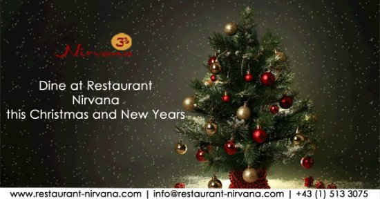 Nirvana - The Indian Restaurant: Weihnachten & Silvester im Nirvana-The Indian Restaurant