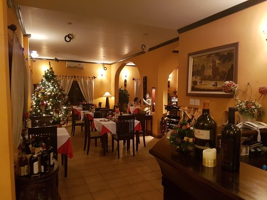 la scala fine italian boutique restaurant vientiane