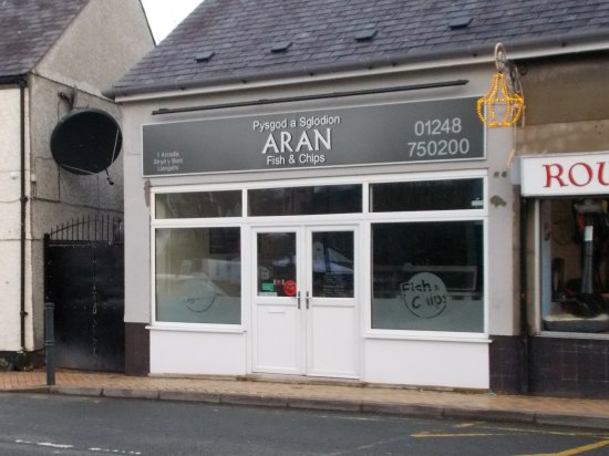 Aran FIsh & Chips, Llangefni