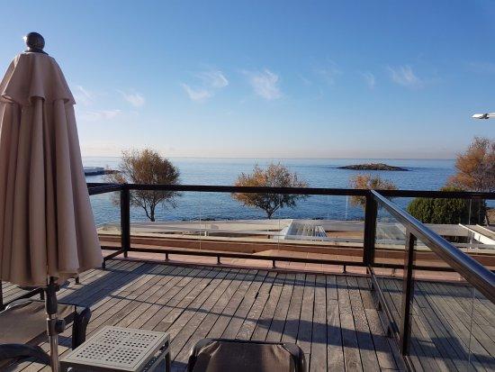 AluaSoul Palma: Terrasse mit Meerblick