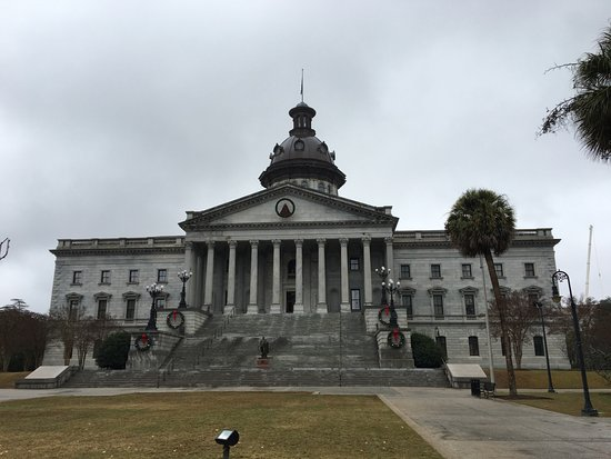 South Carolina State House: Outside of the Statehouse