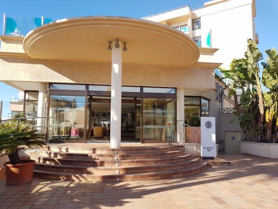AluaSoul Palma: Eingang