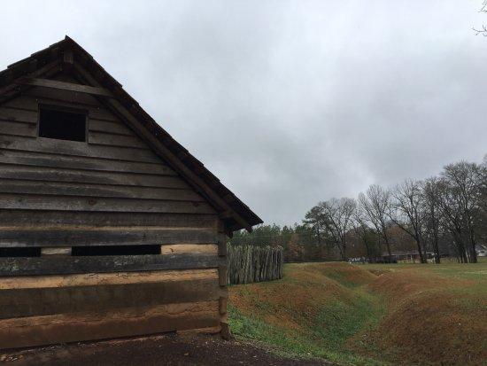 Ninety Six fort and stockade