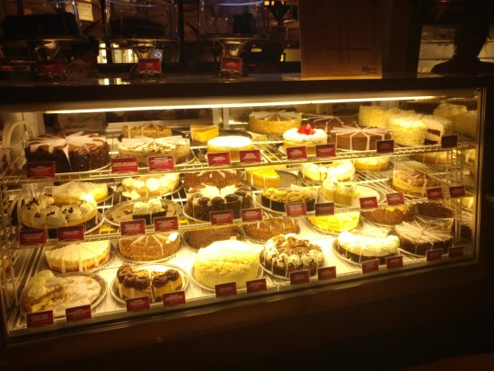 The Cheesecake Factory: 케잌 종류