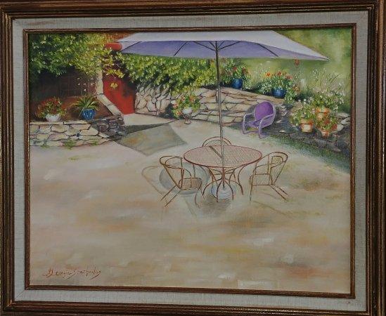 Ledyard, CT: Painting by Georgia Stathoulas