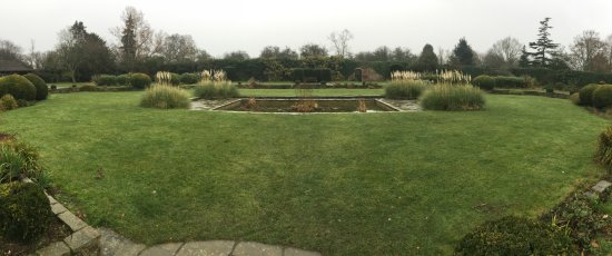 Edgware, UK: King George V Garden in Canons Park