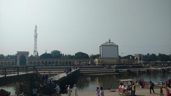 Alandi, India: Ghat