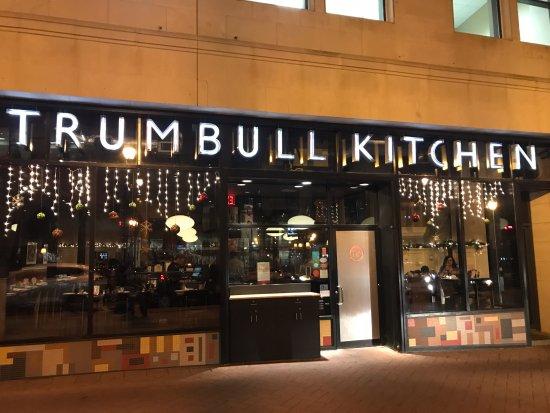 Trumbull Kitchen Dinner Menu