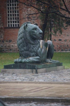 Monument to the Unknown Warrior : the lion