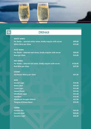 Winterton, South Africa: New Menu Page 2