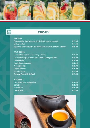 Winterton, South Africa: New Menu Page 3