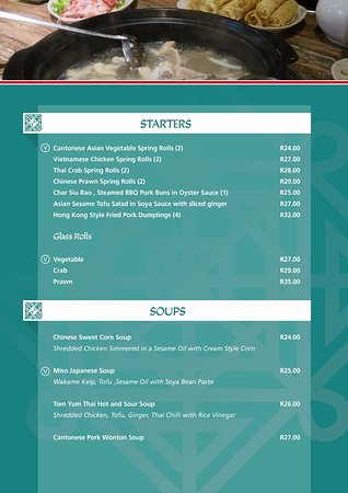 Winterton, South Africa: New Menu Page 4