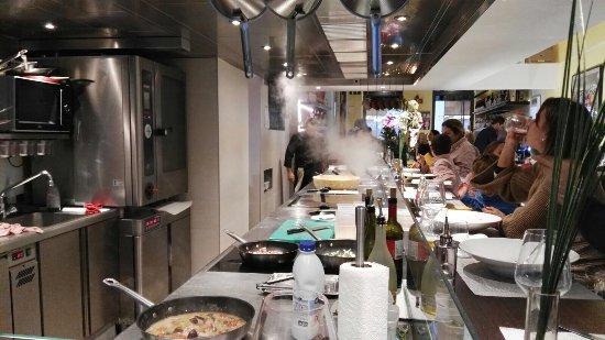 L 39 atelier d 39 alessandro bruxelles restaurant avis for Atelier cuisine bruxelles