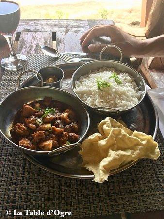 Ile Aux Cerfs: Curry d'ourites