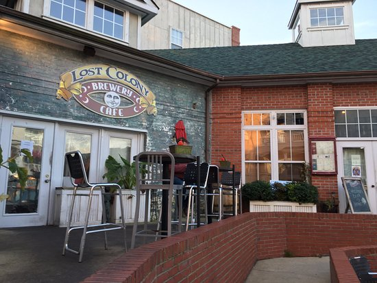 Lost Colony Brewery And Cafe Front