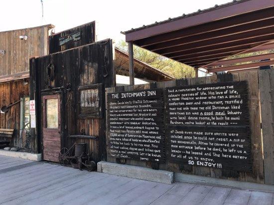 Tortilla Flat, อาริโซน่า: The jail