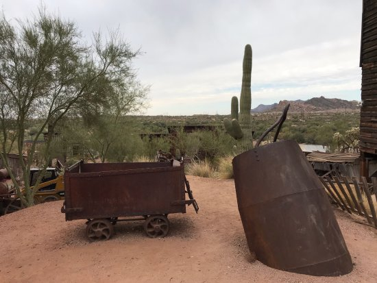 Apache Junction, AZ: The Mine Entrance